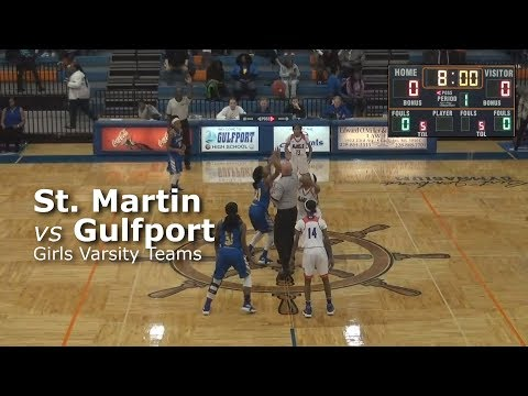 St Martin vs Gulfport (Girls)