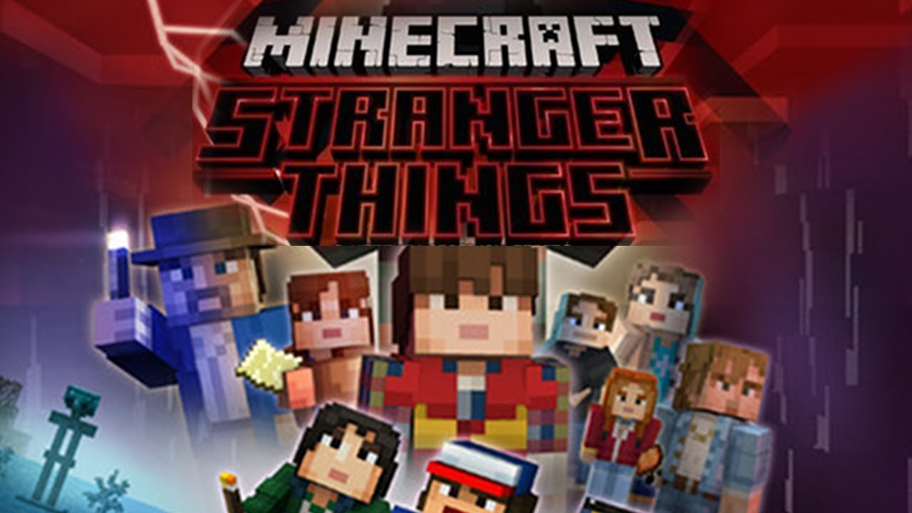 Stranger Things in Minecraft