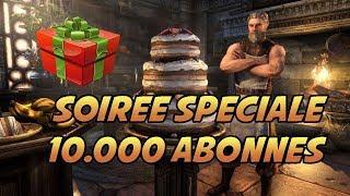 Pluie de Cadeaux !! On fête les 10.000 Abonnés !