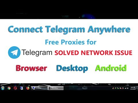 Telegram Connecting Issue Solved | Connect Telegram in Android