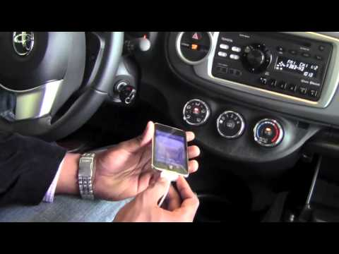 2012 Toyota Yaris Aux And Usb Ports How To By Toyota City