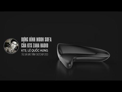 Dựng Hình Moon Sofa Của KTS Zaha Hadid (part 1/3)