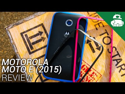 Moto E 2015 Review