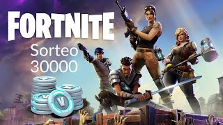 FORTNITE - SORTEO 30000 PAVOS (REQUISITOS EN LA DESCRIPCION)