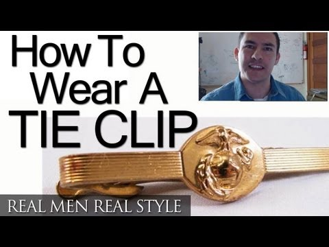 How To Wear A Tie Clip - Where To Buy A Tie Clips - Tie Bar History