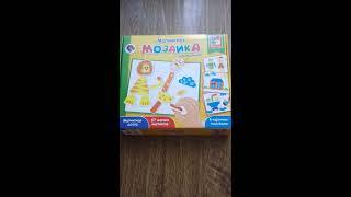 Алешка TV Магнитная мозаика для малышей VT3701-02R видеообзор