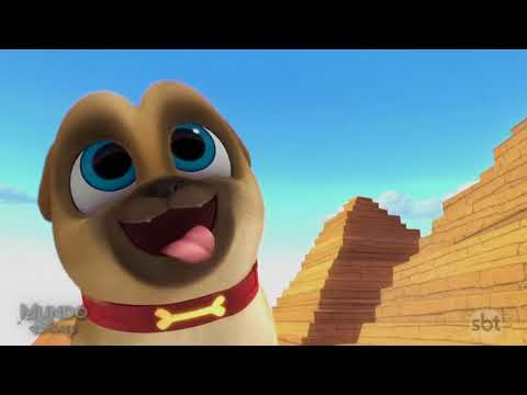 Abertura Puppy Dog Pals Mundo Disney SBT