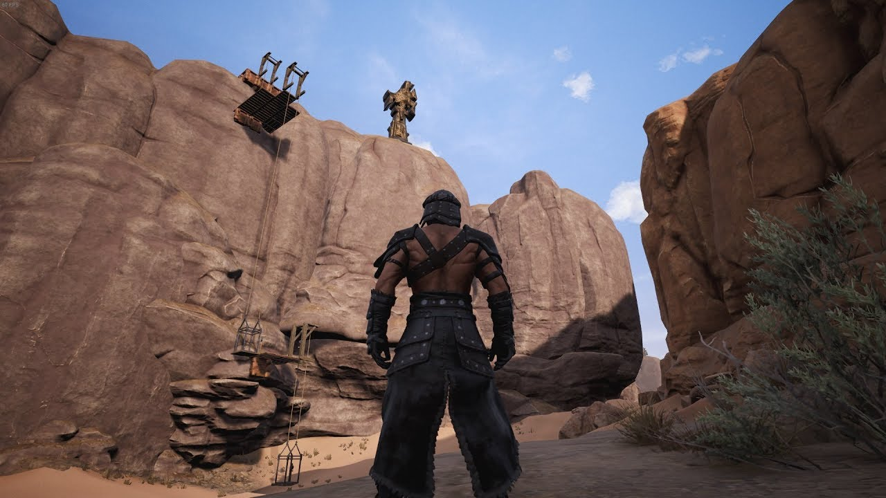 how to make an elevator in conan exiles