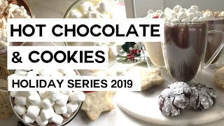 Hot chocolate & cookie pairings | holiday recipes 🎄🍪
