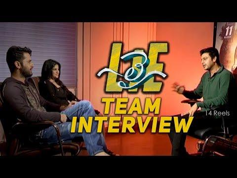 #LIE Movie Team Interview - Nithiin, Arjun, Megha Akash   Hanu Raghavapudi