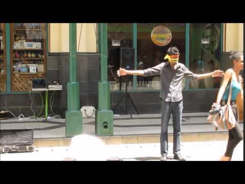 Hug Me social experiment - Mauritius