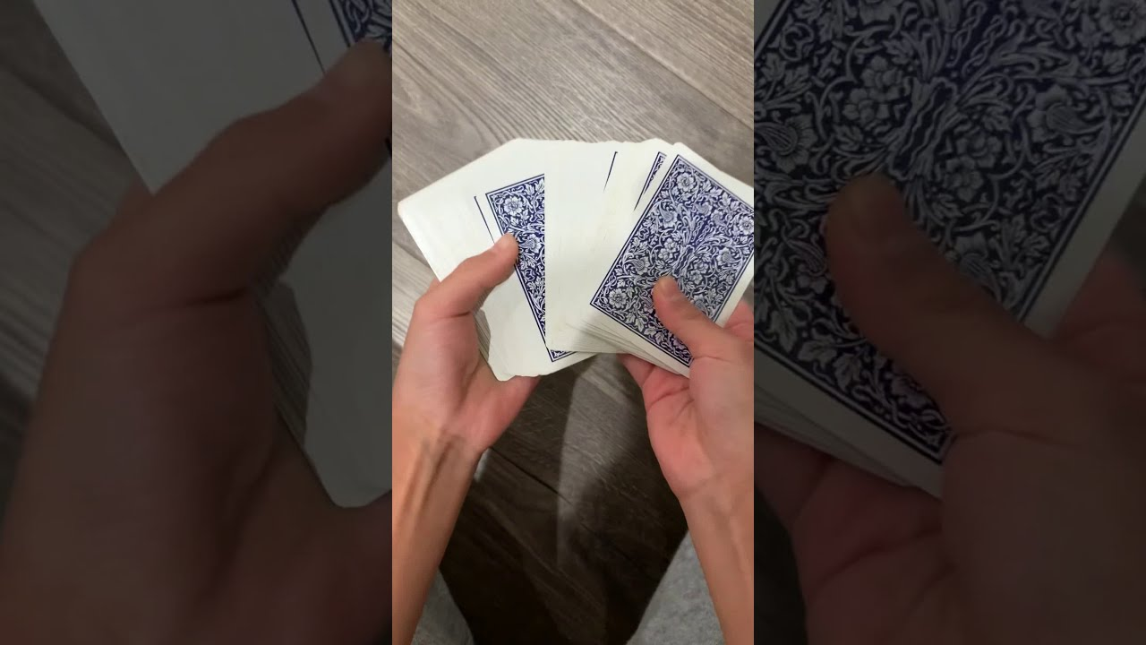 A simple yet powerful card trick - YouTube