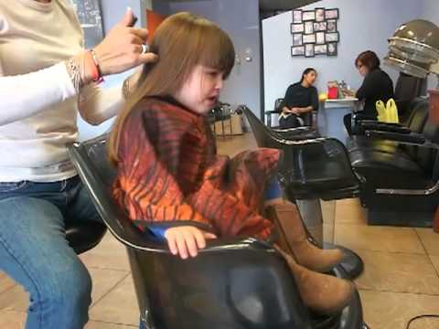 Very Very Very Unhappy Toddler Getting Haircut Hard 4 Mom To