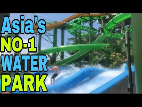 BEST WATERPARK EVER | BIGGEST WATERPARK OF ASIA | BEST WATERPARK OF 2019 | WATERBOM | INDONESIA