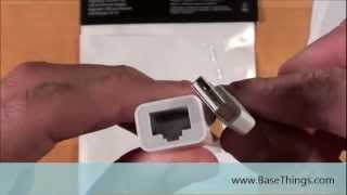 Gambar cover Apple USB Ethernet Adapter Demonstration - BaseThings