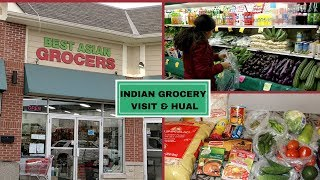 Indian Grocery Visit & Grocery Haul | Indian (NRI) Grocery Shopping/ What I Got from Indian Grocery