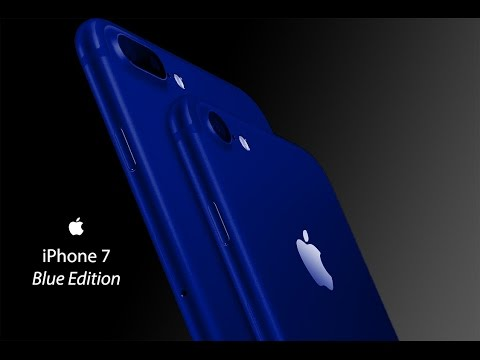 IPhone 7 Blue Edition