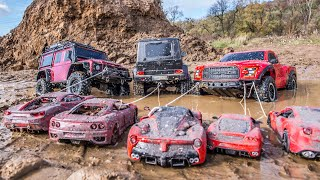 Special Ferrari Restoration Abandoned - RC Rescue Offroad Cars