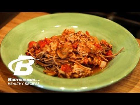 Healthy Recipes: Quick & Easy 30-Minute Spaghetti
