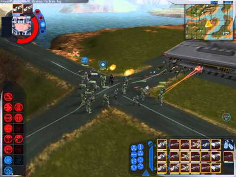 Starship Troopers RTS Walkthrough: Mission 13 - Operation CL