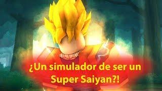 I transform into a Super Saiyan! Roblox: Super Saiyan Simulator 2