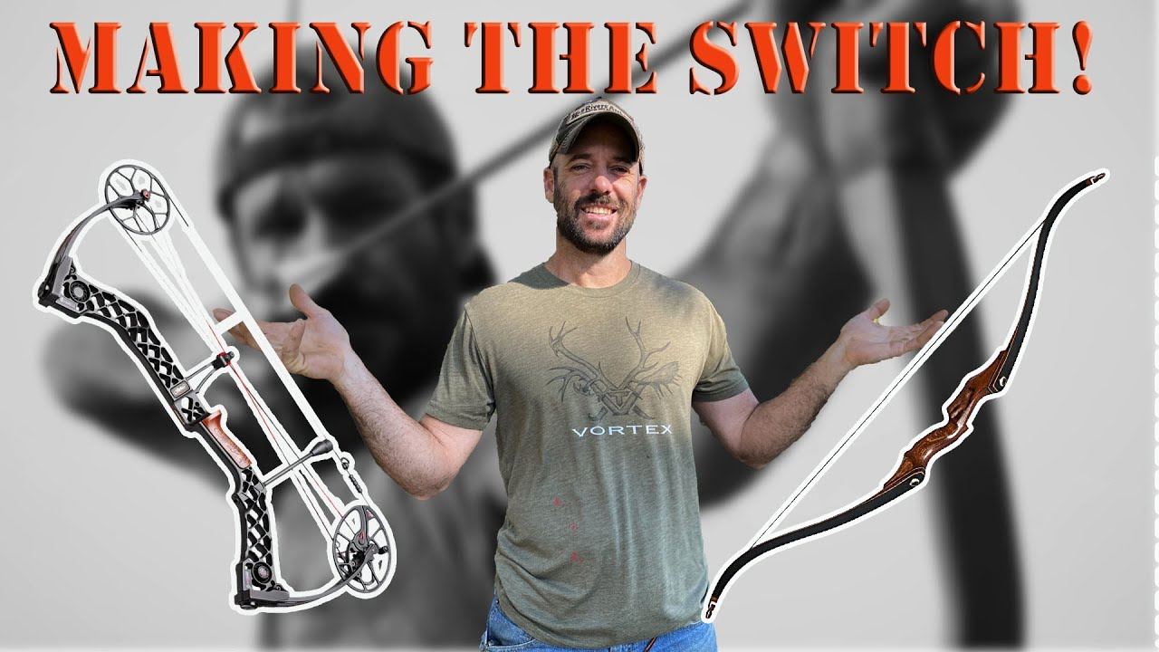 Switching from Compound Bow to Traditional Recurve Bow?