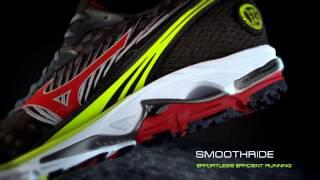 Беговые кроссовки Mizuno Wave Rider 16(Профессиональные беговые кроссовки для объемных тренировок, обладают отличной амортизацией, как в передне..., 2014-02-17T13:11:30.000Z)