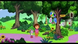 Jeux educatif pour Enfants - Dora l'exploratrice en Francais | Dora apprend l'alphabet en s'amusant
