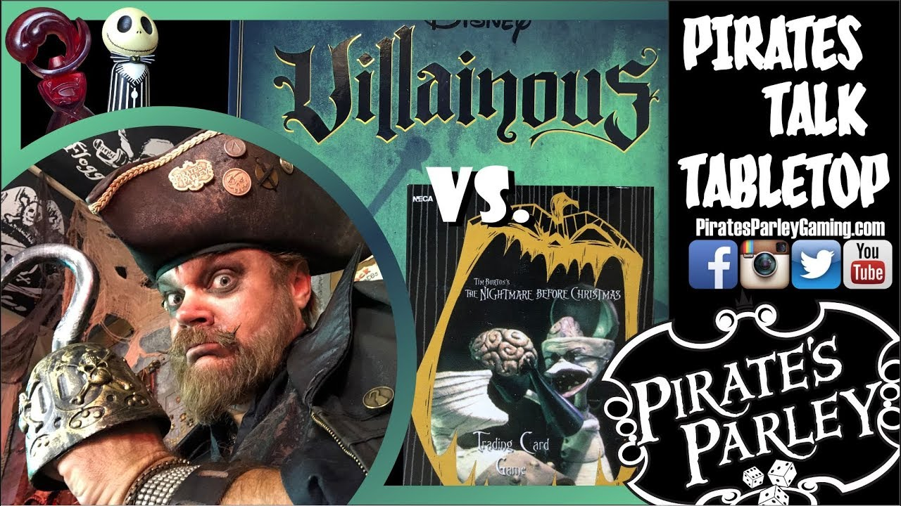 Villainous VS. The Nightmare Before Christmas TCG! - YouTube