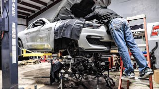 installing-my-twin-turbo-built-5-2l-voodoo-engine-in-my-gt350