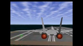 jetfighter 4  carrier takeoff return virtualdub