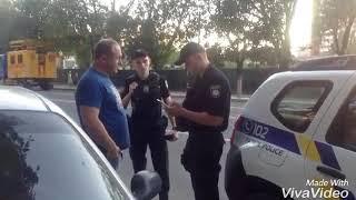 Осторожно!!!Полицейский Ударивший Человека На Детской Площадке Снова При Форме
