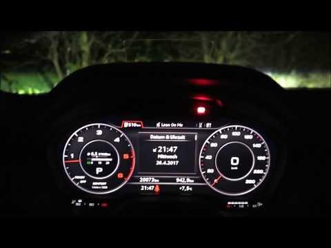 Audi Q2 bei Nacht - Innen und Außenbeleuchtung (2017)