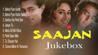 Download Mp3 Sajan Jukebox Full Songs Evergreen Hits Songs Madhuri Dixit Salman Khan Sanjay Dutt