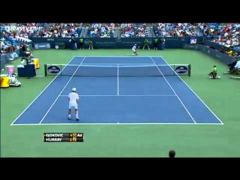 Murray Beats Djokovic In Cincinnati Final Highlights