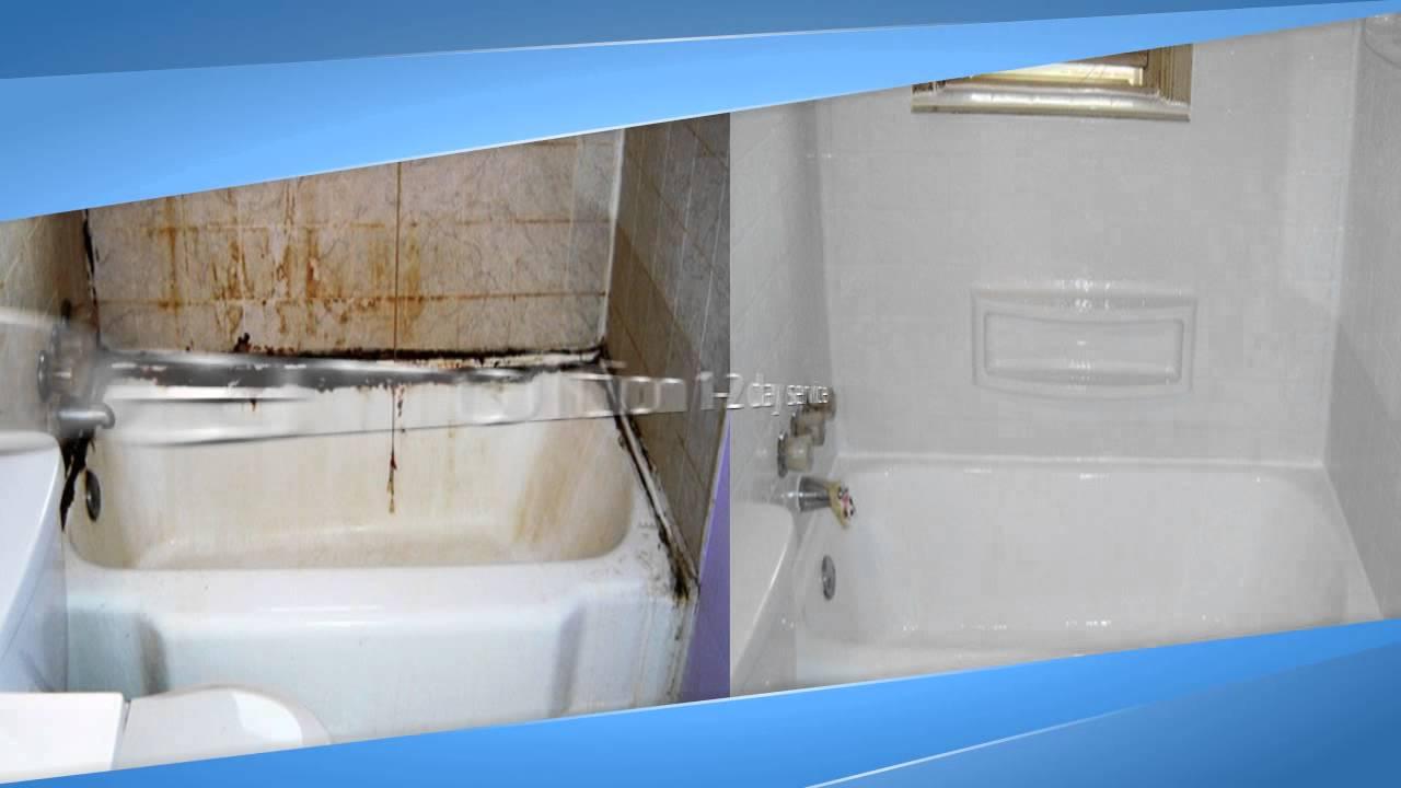 High Quality Cracked Bathtub Repair Charlotte NC   YouTube