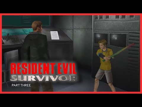 RESIDENT EVIL : SURVIVOR (PSX) - Part 3 / Easy Level | PLAYSTATION | PSX | RETRO GAMING