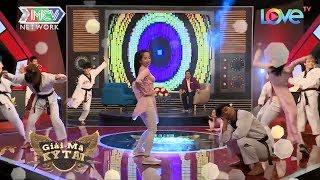Hotgirl Châu Tuyết Vân diện áo dài múa Taekwondo siêu dễ thương nhưng đầy mạnh mẽ - GMKT 😍