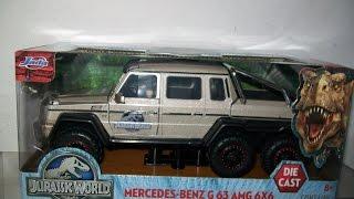 Jurassic World Jada 1/24 Diecast Mercedes  G63 Review,