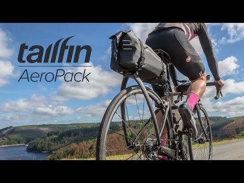 Tailfin AeroPack takes a streamlined approach to toting cyclists' stuff