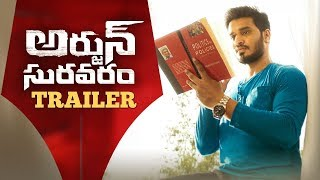 Arjun Suravaram Movie Trailer || Nikhil || Lavanya Tripati || Nikhil Siddhartha