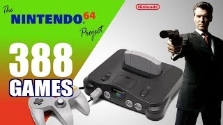 The Nintendo 64 Project - All 388 N64 Games - Every Game (US/EU/JP)