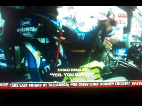 Chad Knaus jimmie Johnson caught cheating On VIDEO