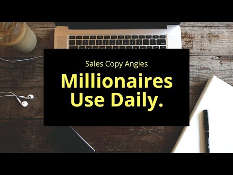 New Masterclass: Online Sales Formulas Millionaires Use Daily