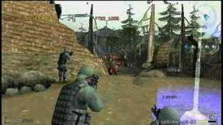 SOCOM: U.S. Navy SEALs Fireteam Bravo 3 Sony PSP Gameplay
