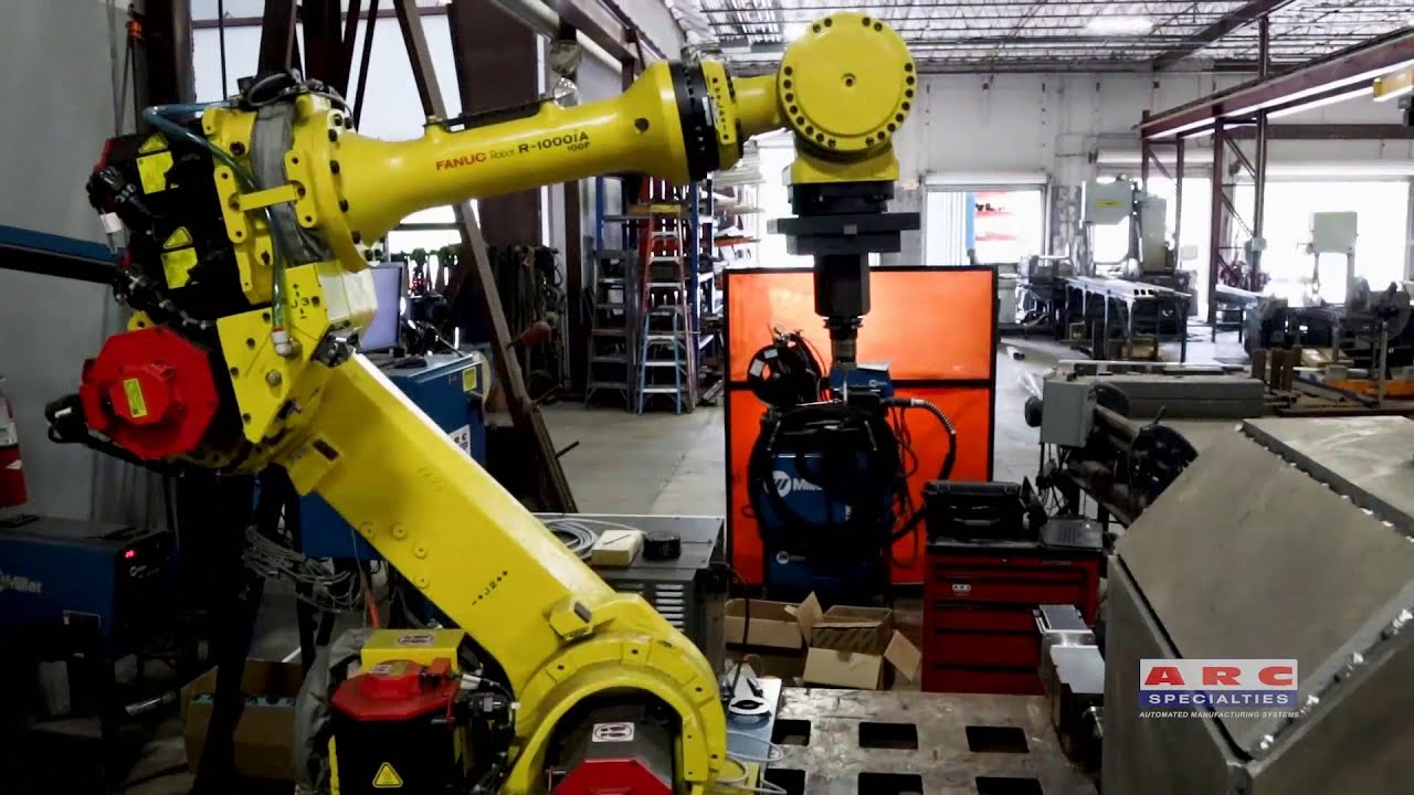Robotic Drill & Tap System with Automatic Part Registration – ARC  Specialties