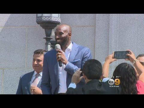 Los Angeles Celebrates Kobe Bryant Day