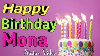 Happy Birthday Mona Status    happy Birthday Mona Wishes   Birthday Wishes For Mona