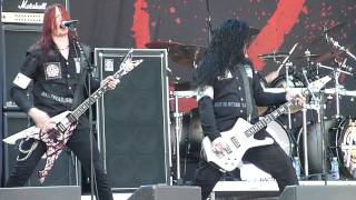 Arch Enemy - Intro,Yesterday Is Dead And Gone, Live @ Sonisphere,Stockholm 2011