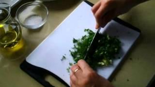 Рецепт - Соус для запечённой рыбы